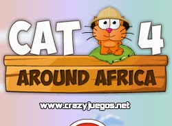 Jugar Cat Around Africa