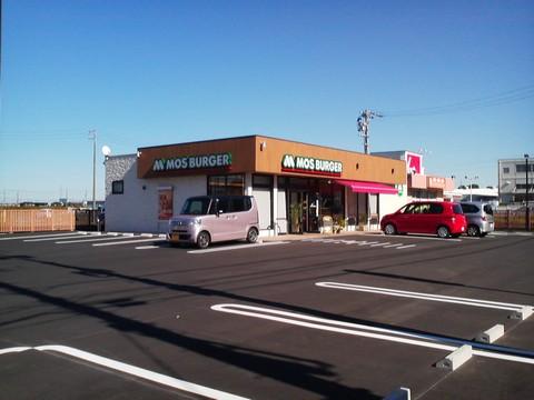 外観1 モスバーガー稲沢天池店