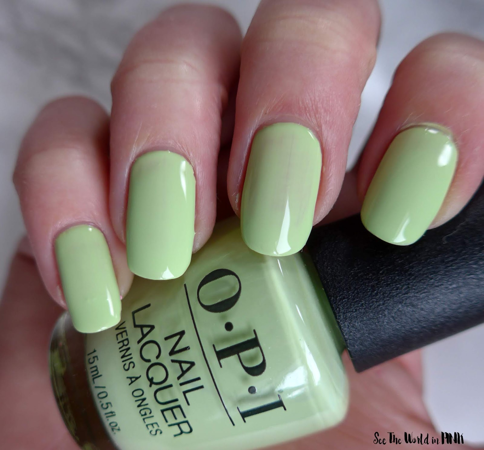 Manicure Monday - OPI Tokyo Collection for Spring and Summer 2019 How Does Your Zen Garden Grow?