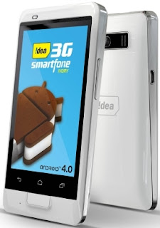 Idea launches dual-SIM Android 4.0 Ivory for Rs. 7,390