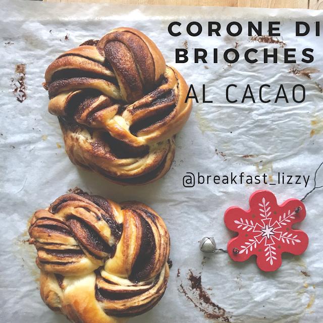 corone di brioches al cacao