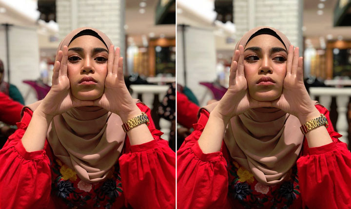 Foto cantik Uyaina Arshad