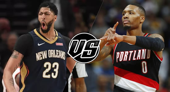 Live Streaming List: New Orleans Pelicans vs Portland Trail Blazers 2018-2019 NBA Season