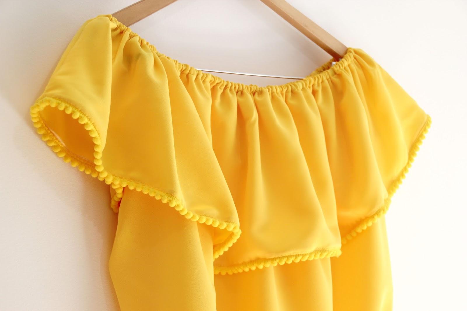 DIY Video-tutorial y patrones de blusa sin hombros - Handbox Craft ...