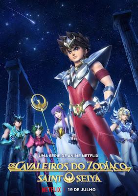 Os Cavaleiros do Zodíaco - Netflix