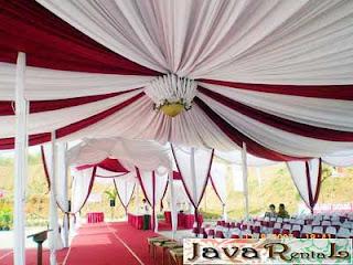 Sewa Tenda Dekorasi VIP - Rental Tenda Dekorasi VIP Pesta