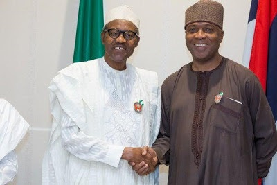 Yet again, Buhari, Saraki meet in Aso Villa