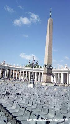 obelisco praca sao pedro audiencia papa - Como ver o papa em Roma