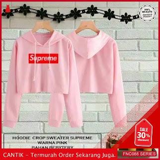 FNC086S57 Sweater Crop Hodie Supreme Serba 40 Ribuan