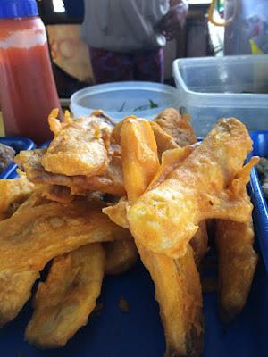 foto very barus/pisang goreng