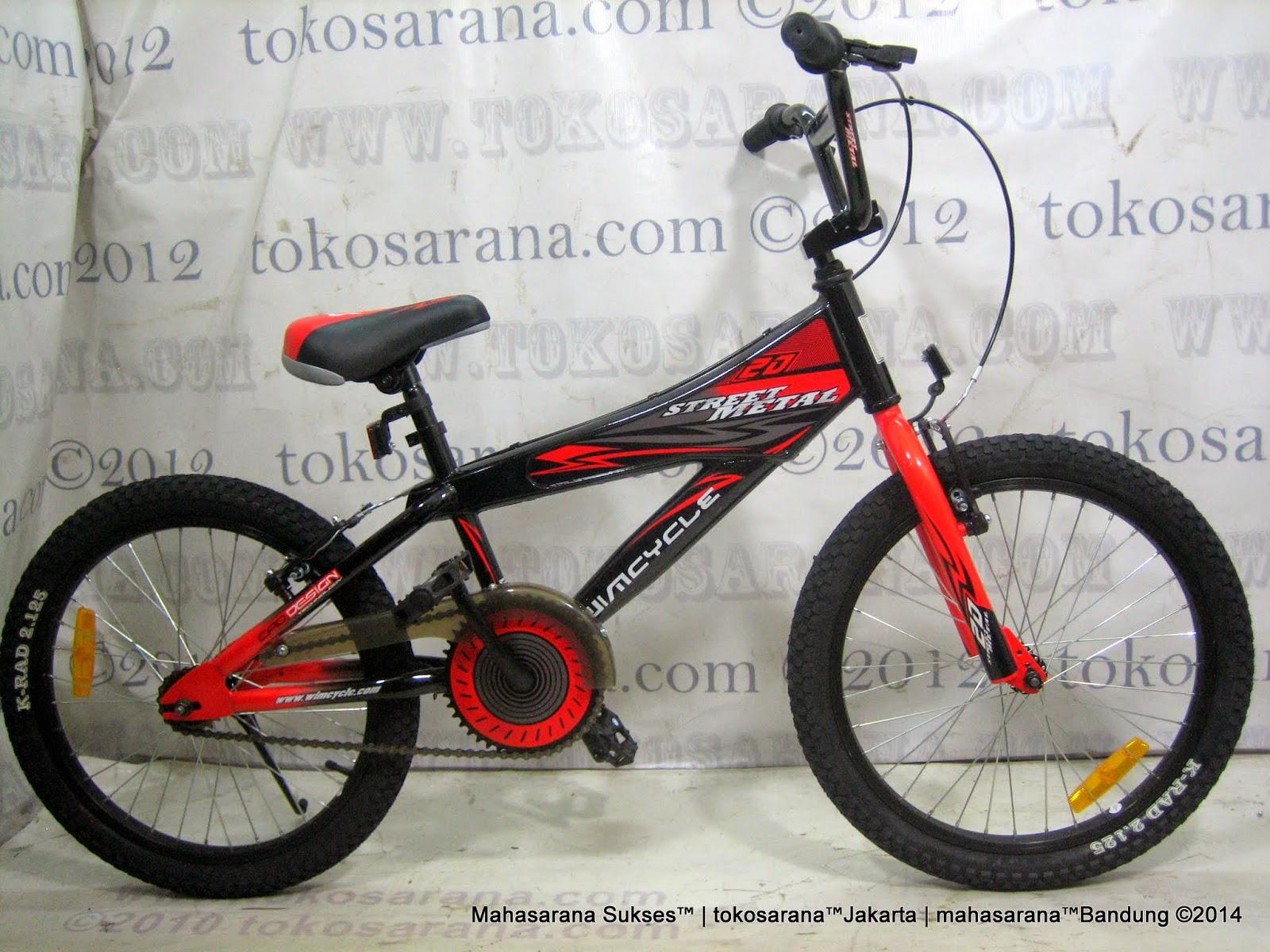 Tokosarana Mahasarana Sukses Sepeda Bmx Wimcycle Street Metal 20 Inci