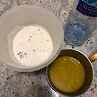 Ingrédients pour la réalisation des cookies à partir de la préparation de Classic Food