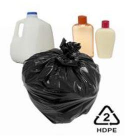 jenis simbol plastik HDPE