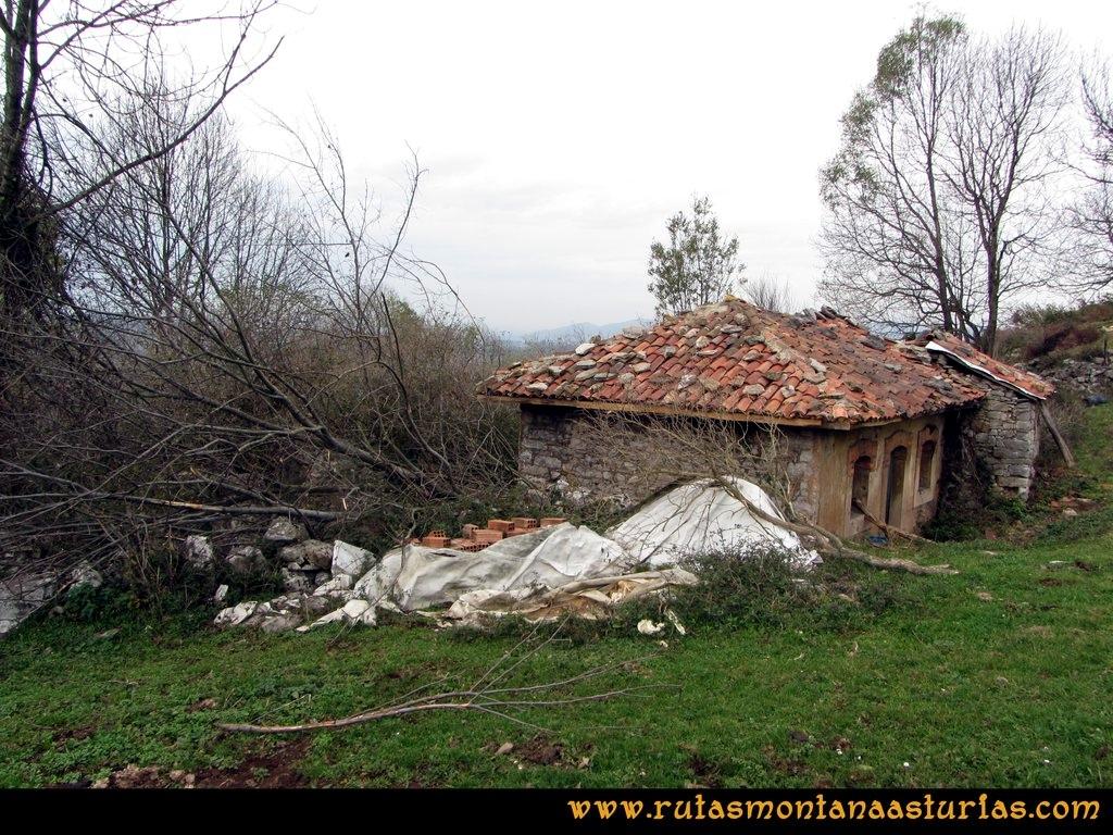 Ruta Baiña, Magarrón, Bustiello, Castiello. El Collado