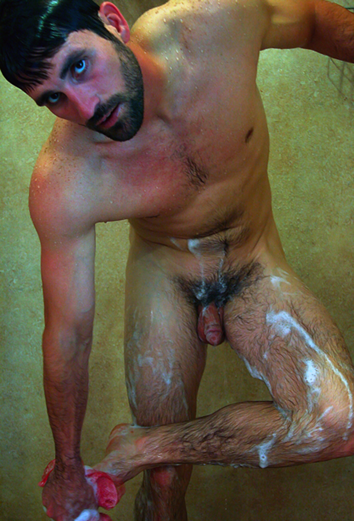 Sportsman Bulge Naked  Shower And Cock Show-2820
