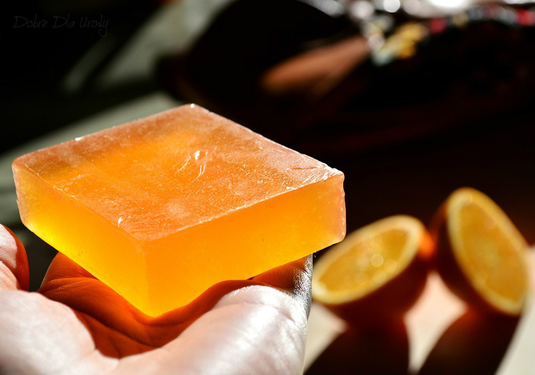 Swati Ayurveda Mydło imbir - pomarańcza