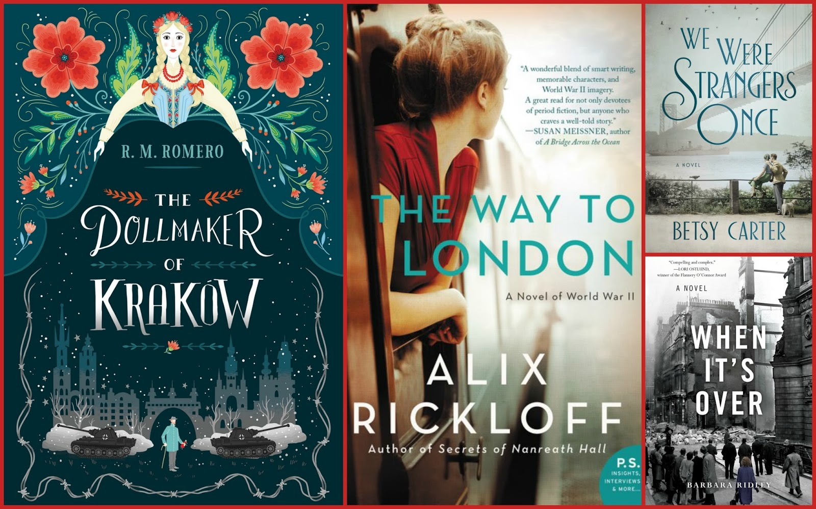 Beth fish reads 4 new novels set during world war ii 4 new novels set during world war ii sciox Gallery