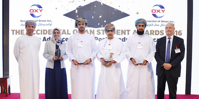 PR | H.E. Salim Al Aufi, Undersecretary, Ministry of Oil & Gas, Oman Joins Celebration at Oxy Oman Post-Graduate Student Awards