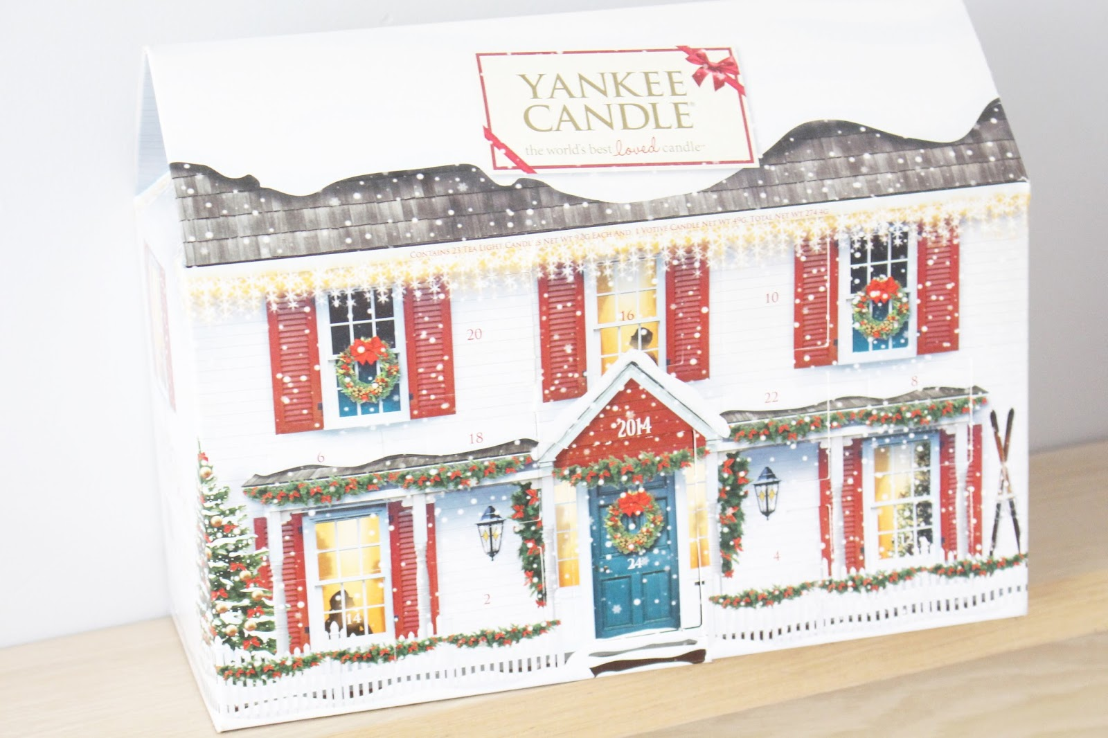 Yankee Candle Advent Calendar 2014