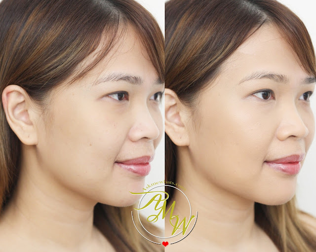 before and after photo of Deborah Milano DD Daily Dream Anti Age Foundation Review