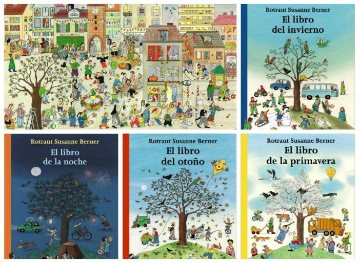 colección de cuentos sin texto Las estaciones de Anaya