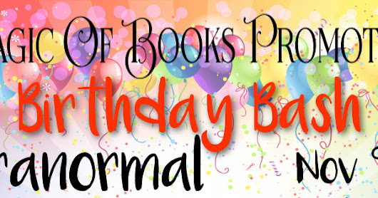 MoB's 3rd Birthday Bash Paranormal Promo Tour + #Giveaway
