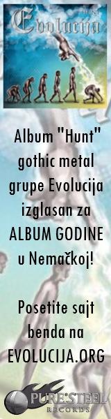 """Album """"Hunt"""" goth metal grupe Evolucija izglasan za album godine u Nemačkoj"""