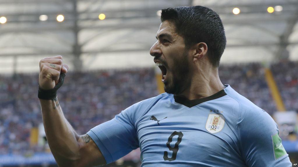 El festejo del jugador del Barcelona / AP