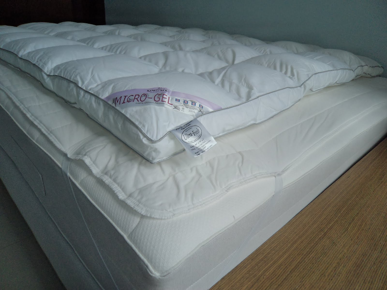 Through A Bit Of Research Online I Found That It Is The Mattress Topper Makes Bed Very Soft As One Person Posted Like Sleeping On Cloud