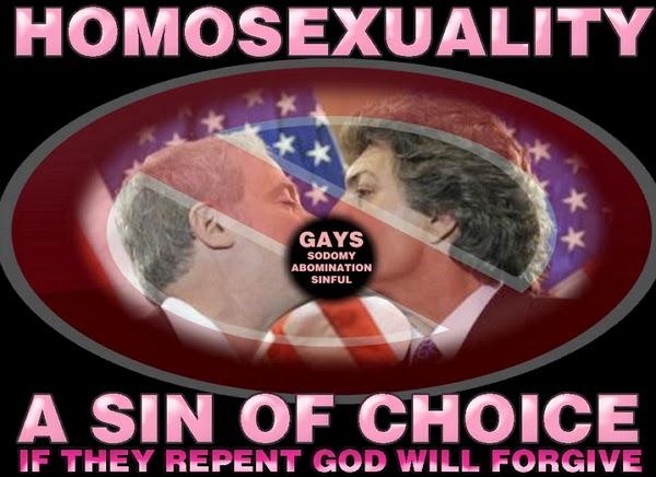 homosexuality sin against God