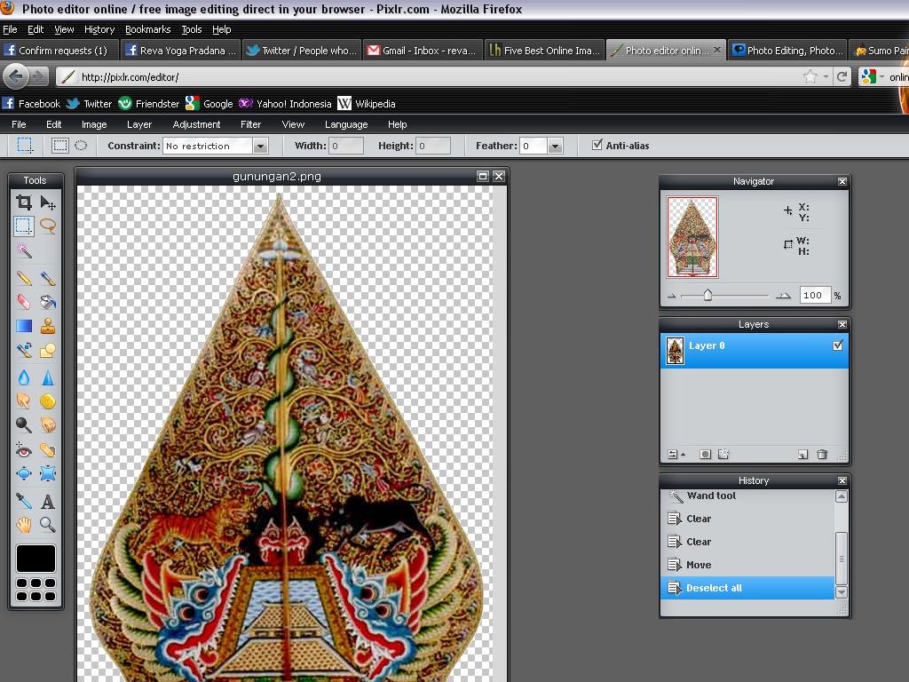 Revo Reva It Lesson Pixlr Serasa Photoshop Versi Online