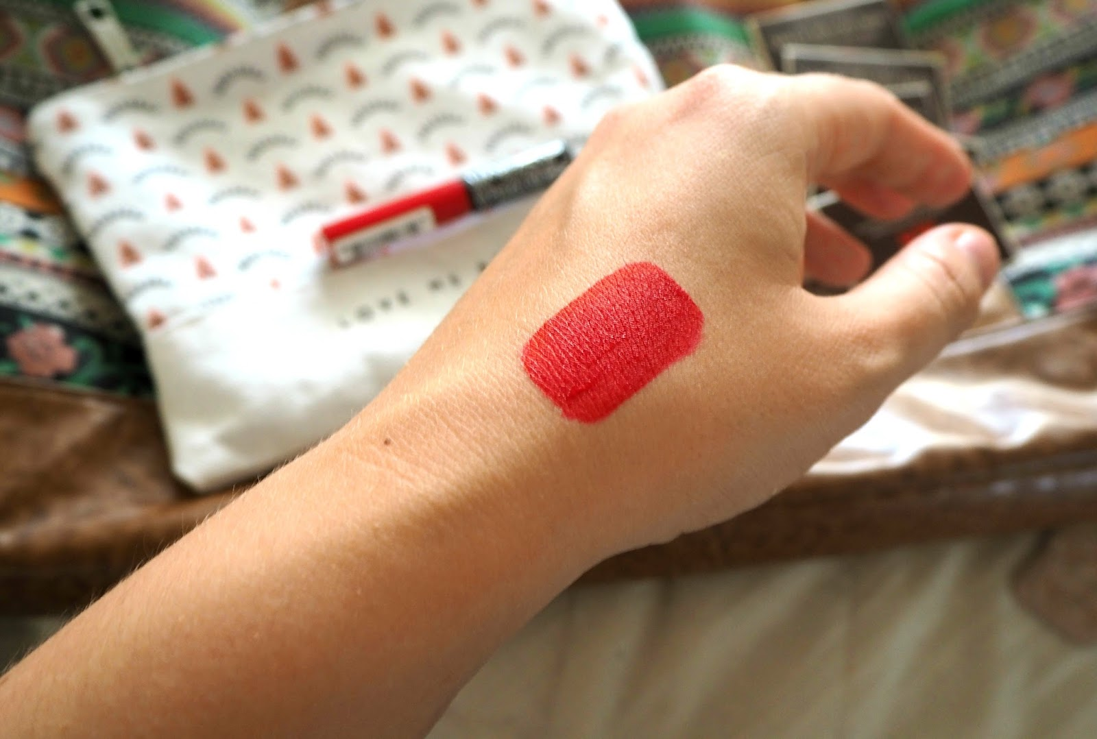 Kat Von D Lipstick Swatch