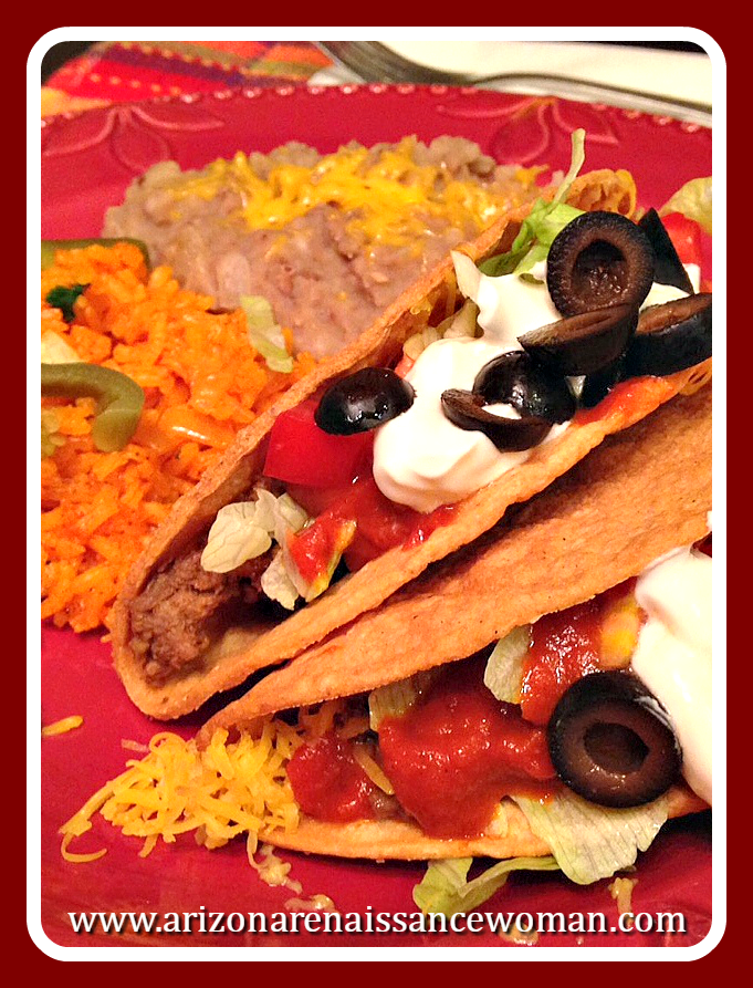 Classic Americanized Ground Beef Tacos