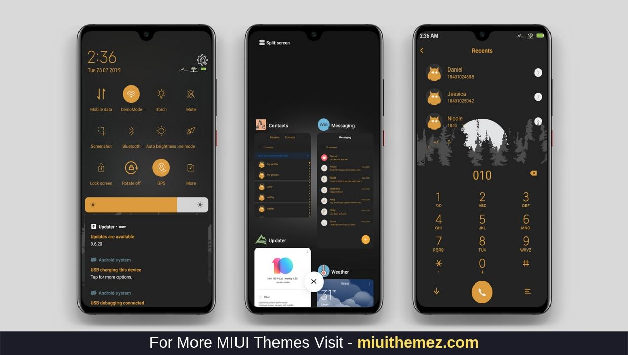 Download MDark Night MIUI Theme
