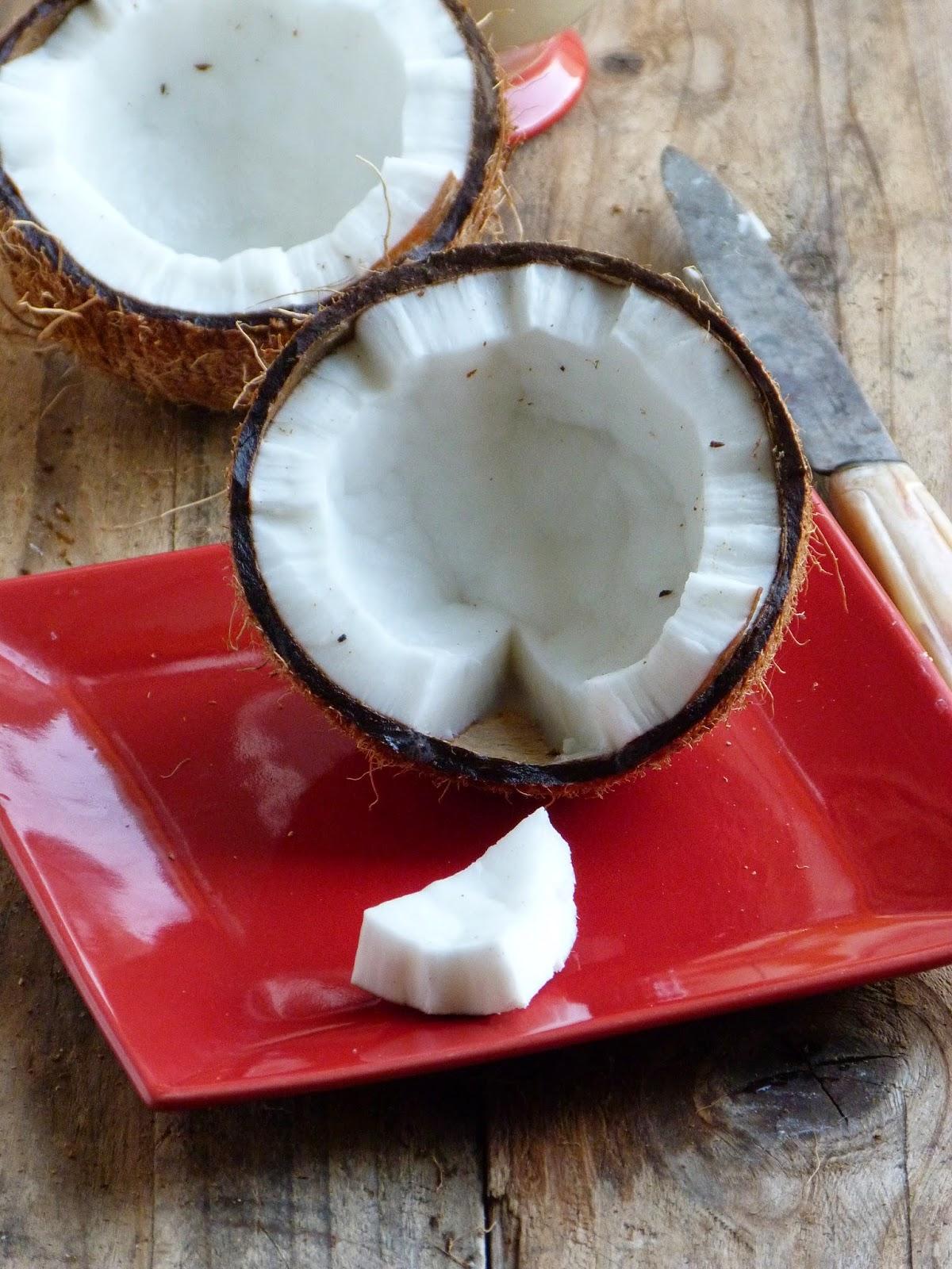 Comment Couper Une Noix De Coco : comment, couper, Chic,, Chocolat:, Comment, Ouvrir, Préparer, Coco?