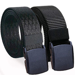 Military Style Webbing Belts