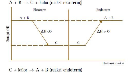 Entalpi dan macam macam perubahan entalpi diagram entalpi reaksi ccuart Images
