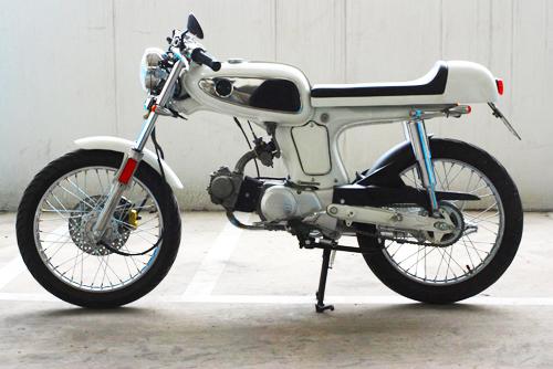 Honda 67 độ cafe racer 100cc