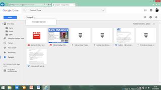 Google Drive Kosongkan Sampah