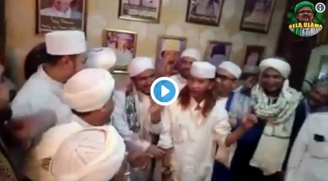 Para Habaib Berkumpul Dukung Prabowo-Sandi di Pesantren Tajjul Alawiyyin