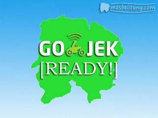 Go-Jek di Belitung