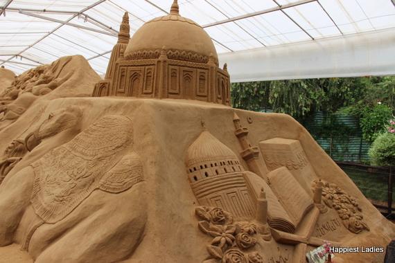 Islamic culture - sand museum mysore
