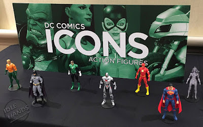 San Diego Comic-Con 2016 DC Collectibles DC Icons Action Figures Rebirth Justice league 7 Pack