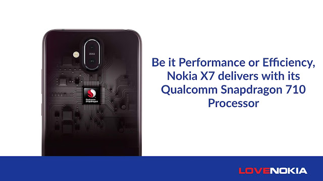Nokia X7 Qualcomm Snapdragon 710 processor