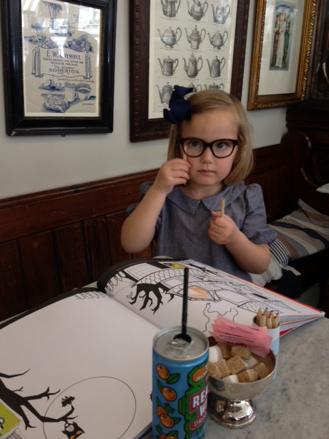 1cd0e4c08ed9 A big thanks to Xanthe s mother Ashley for sending us these adorable snaps  of her wearing Selima for Crewcuts Scout frames. According to Ashley
