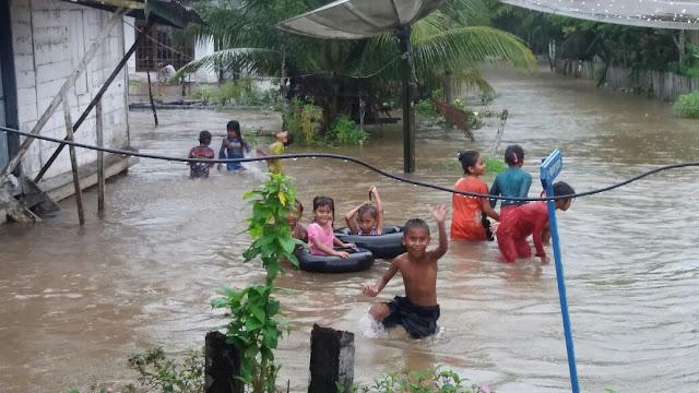 Kawasan Ulu Masen di Aceh Jaya Banjir