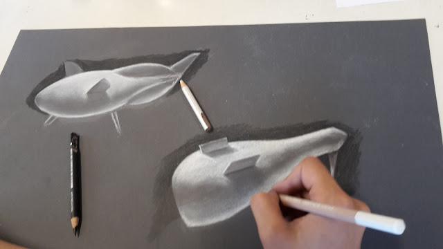 tekenles,materiaalgebruik,natekenen,digitaal tekenen