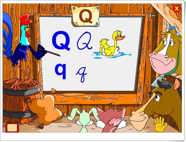 """Silabario-luz: La letra """"Q"""" (Lectoescritura de Educación Infantil)"""