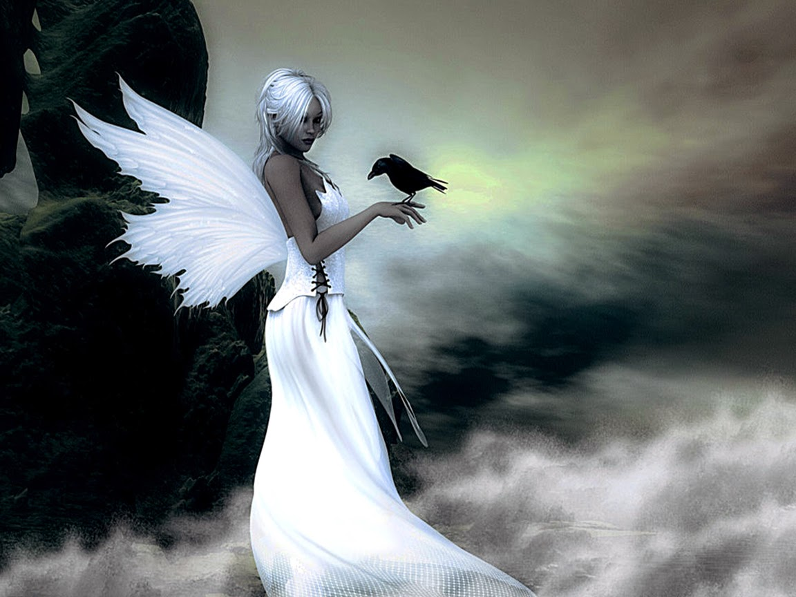 Fantasy 3d Wallpaper Desktop Angel Wallpapers Beautiful Wallpapers Collection 2018