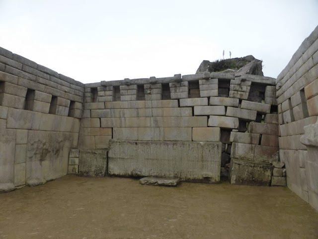 Machupicchu, templo principal